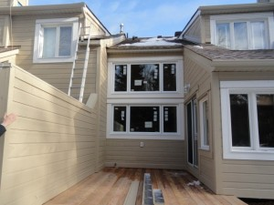 Restoration of Decks and Siding on Condo Towns